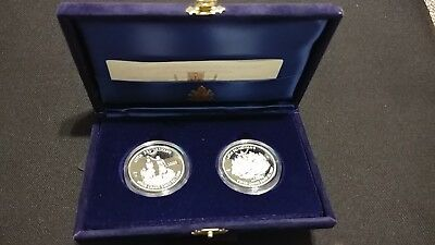 199 VATICAN 2 COINS SET HOLY YEAR 2000 SILVER PROOF ANNO SANTO 10000 lire ITALY