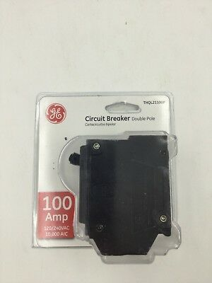 GE Circuit Breaker - 100 Amp Double Pole (THQL21100P) *New*
