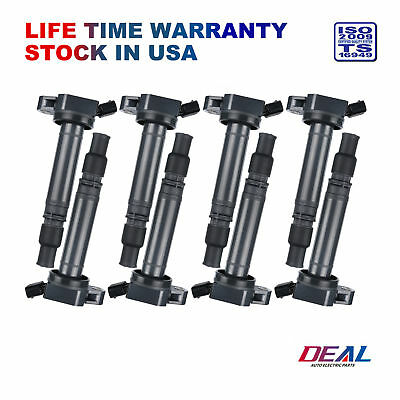 DEAL 8pcs New Ignition Coil on Plug Pack w/ Boot For Lexus Scion Toyota L4 V6 V8