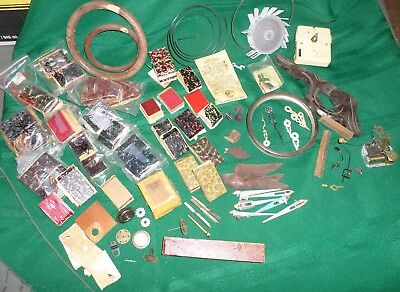 Lots Of Cuckoo Clock Parts Bellow Tops & Carvings & Birds & Music Box & Hands!