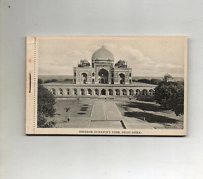 BOOKLET OF 16 POSTCARDS of DELHI (INDIA)
