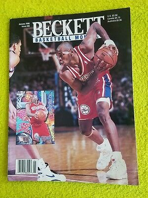 Beckett Basketball Monthly 1996 Jerry Stackhouse Read