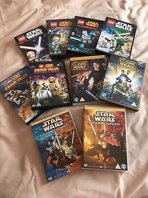 Star Wars DVD Bundle (10 Films)