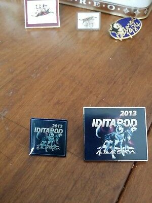 2013 Iditarod Dog Sled Racing Lapel Pin and Hat Pin