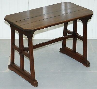 A.w.n Pugin Gothic Revival Vestry Writing Table Desk Made In England Circa 1780