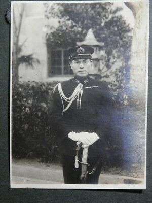 WW2 Japanese Navy High-ranking officer's picture.Very Good