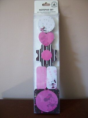 Minnie Mouse Notepad Set - New