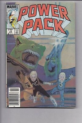 High Grade Canadian Newsstand Edition Power Pack #16 $0.75 variant