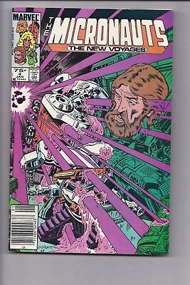 High Grade Canadian Newsstand Edition Micronauts #4 $0.75 Price variant