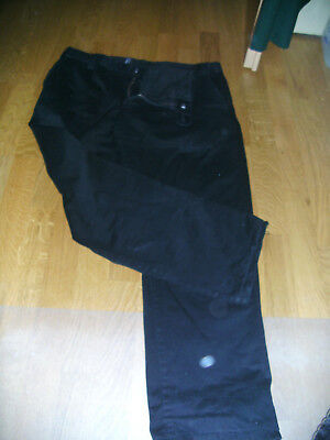 CANDA Thermohose Hose Thermojeans Casual Style schwarz Gr. 27,5 / 54,5