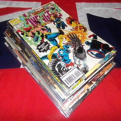 17 Marvel Comics Issues MEGA Job Lot Collection Avengers X-Men Werewolf By Night