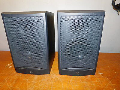 A PAIR OF INFINITY RS1 8ohm15 100watt BOOKSHELF SPEAKERSCOOL