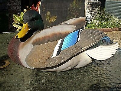 Ducks Unlimited Special Edition Jett Brunet Mallard Decoy 2004