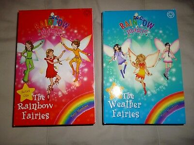 Rainbow Magic Series One & Two - Rainbow Fairies & Weather Fairies Boxed Sets
