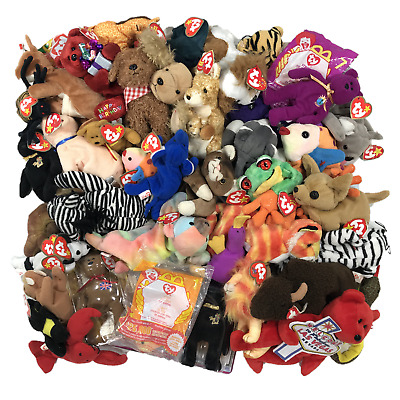 TY Beanie Babies - Huge Lot of 20 - Rare Retired & Modern - McDonalds Original