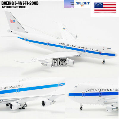 Inflight UNITED STATES OF AMERICA  BOEING E-4A 747-200B 1/200 DIECAST Aircraft