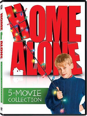 NEW!!! Home Alone: 5-Movie Collection (DVD, 2017, 5-Disc Set)