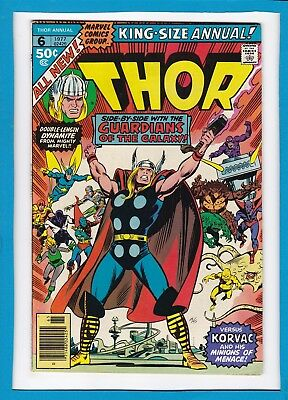 Mighty Thor King-Sized Annual #6_1977_Very Good_Guardians Of The Galaxy_Korvac!