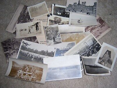 Original WWI AEF Army Marine Corps  photos, portraits, and postcard lot.
