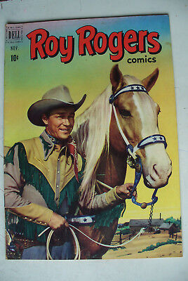 Roy Rogers #47    MY OPINION.... Very Fine +......