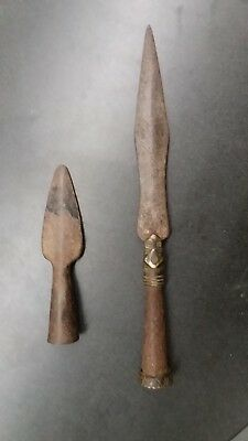 Antique Chinese Spear Heads