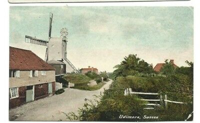 Udimore Showing Windmill.Colour Printed