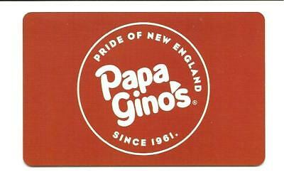 Papa Gino's Gift Card No $ Value Collectible Pride of New England Since 1961