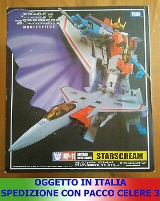 Transformers G1 Masterpiece Mp-11 - Starscream G1 - Astrum - Nuovo Takara Tomy