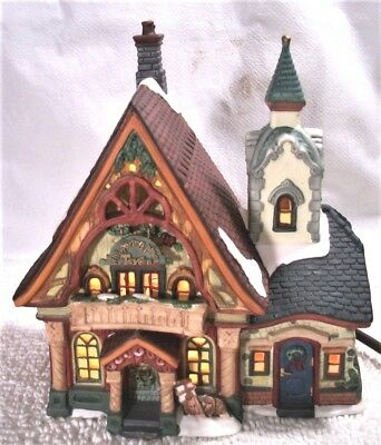 NEW Whispering Pines Tavern- Santa's Workbench Collection -Victorian Series 1999