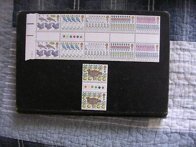 1977 GB Christmas, NH Mint TL set of stamps SG 1044-49