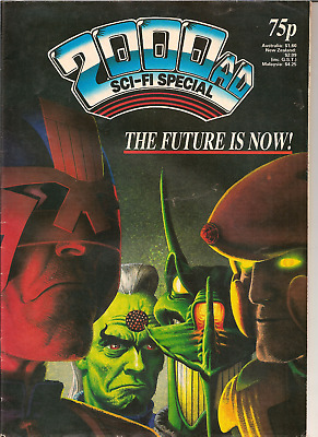 "2000Ad Sci-Fi Special ""the Future Is Now"" With Judge Dredd,ipc Magazines 1987"
