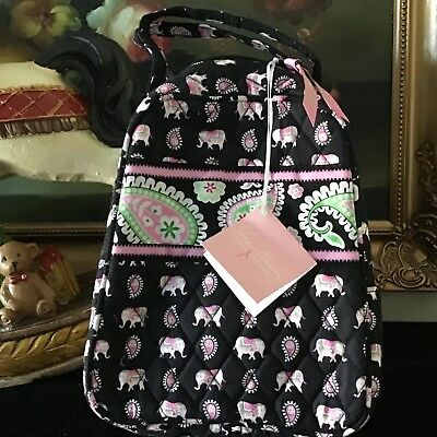NWT Vera Bradley Lunch Bunch (Let s do lunch) Bag In Pink Elephants JE 0caeb2487b665