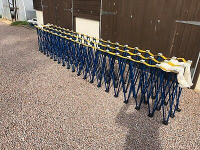 fold out mobile gravity roller conveyor 14ft  - FOR PARCELS /WAREHOUSE ETC (LOT2