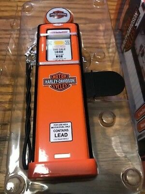 Harley-Davidson Limited Edition 1950s Gas Pump Bank Die-Cast 1:12 Scale nos nice
