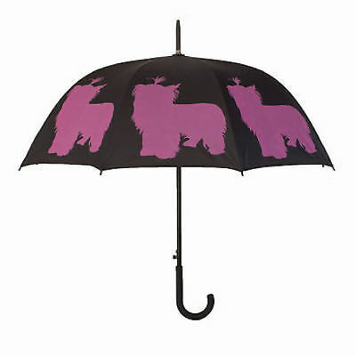 Ladies Brolly San Fransisco Umbrella Company Yorkshire Terrier Dog Design NEW