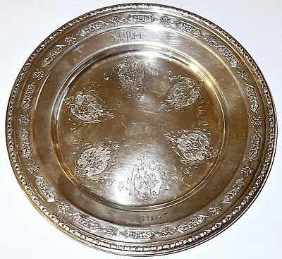 """SUPERB Towle LOUIS XIV Sterling Silver 6-1/2"""" PLATE #53160~112.6 GRAMS! NR!"""