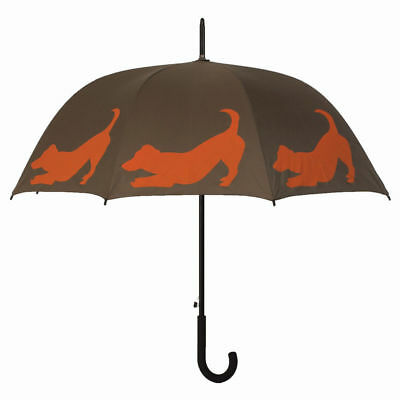 Ladies Brolly San Fransisco Umbrella Company Jack Russell Dog Design NEW
