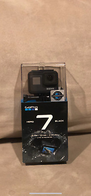 GoPro HERO7 Black - Action Camera 4K HD Video 12MP Photos - New In Box