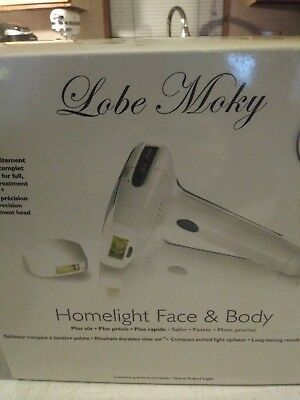 Homelight Face And Body Hair Removal System.