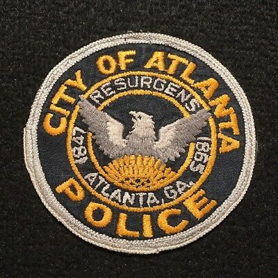 Georgia -  Atlanta Police Department Patch / CHEESECLOTH PATCH