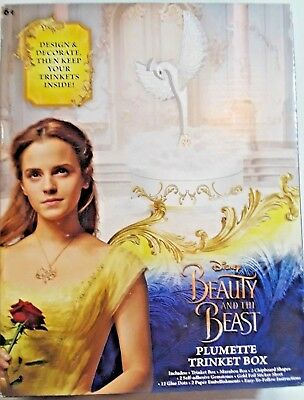 Beauty and the Beast DIY Plumette Feather Trinket Box New