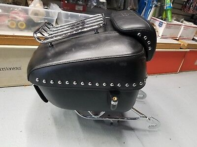 Leather Tour Pak Harley Touring Road king Street Glide Ultra FLH Detachable OEM