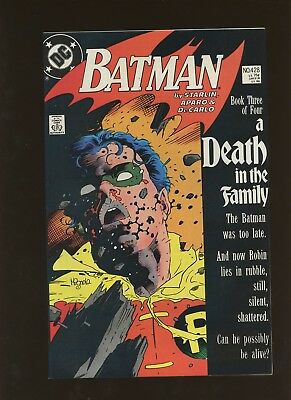 Batman 428 FN/VF 7.0 * 1 Book Lot * DC! A Death in the Family Chapter 5! Robin!