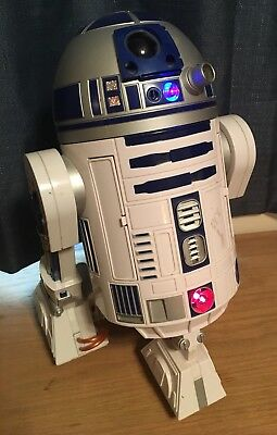 Working 2002 Hasbro Star Wars Voice Activated R2-D2