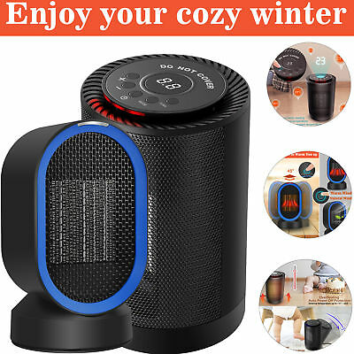 1200W PTC Ceramic Electric Space Heater Fan Warmer Air Heater Silent Home Office