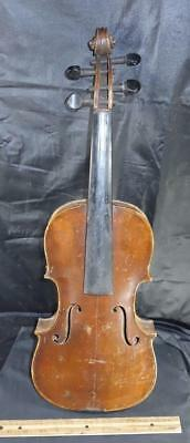 Antique HOPF Violin Marked Inside and Out German !