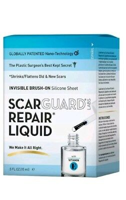 Scarguard Repair Liquid with Vitamin E 0.5 oz NEW OPEN BOX