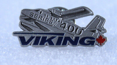 Twin Otter Series 400 Viking Label Pin ~ Solid Pewter NEW In Package