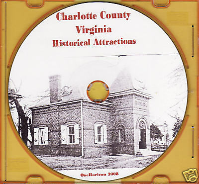 Charlotte County Historical Attractions - VA Genealogy - HOLIDAY SALE