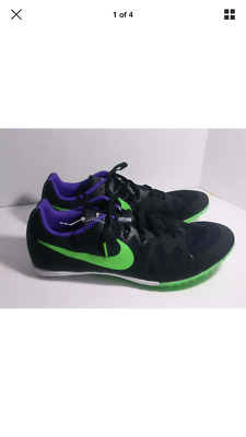 new product 0ecd4 bb10e New! Nike Zoom Rival MD 8 Black Men s Running Shoes Style 806555-035 -